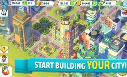 City Mania: Town Building Game 1.9.1a Apk for android